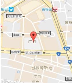 梅田店マップ